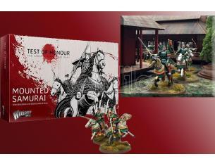 WARLORD GAMES TEST OF HONOUR MOUNTED SAMURAI WARGAME
