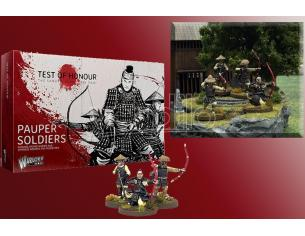 WARLORD GAMES TEST OF HONOUR PAUPER SOLDIERS WARGAME