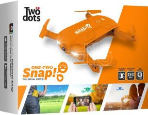 TWO DOTS SNAP THE SOCIAL DRONE ARANCIONE DRONI CONSUMER