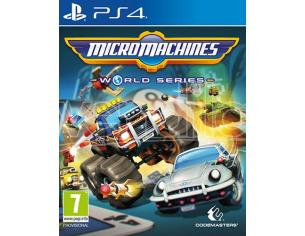MICRO MACHINES WORLD SERIES GUIDA/RACING - PLAYSTATION 4