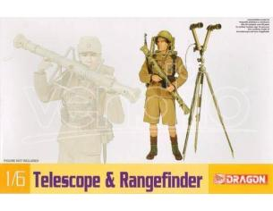 Dragon 75022 WWII German Telescope & Rangefinder Model KIT 1:35 Personaggi