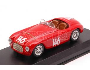 Art Model AM0367 FERRARI 166 MM BARCHETTA N.146 WINN.COPPA DOLOMITI 1950 G.MARZOTTO 1:43 Modellino