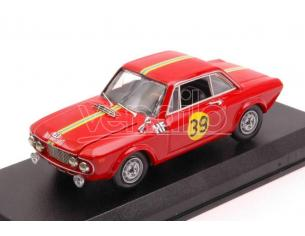 Best Model BT9664 LANCIA FULVIA HF N.39 2nd MONTE CARLO 1967 O.ANDERSSON-J.DAVENPORT 1:43 Modellino