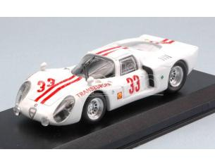 Best Model BT9665 ALFA ROMEO 33.2 N.33 ACCIDENT 12 H INTERLAGOS 1970 M.GERNANDEZ 1:43 Modellino
