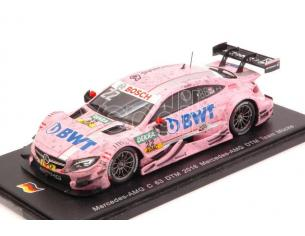 Spark Model SG286 MERCEDES C63 N.22 12th DTM 2016 L.AUER 1:43 Modellino