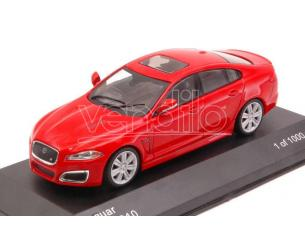 White Box WB230 JAGUAR XFR 2010 RED 1:43 Modellino