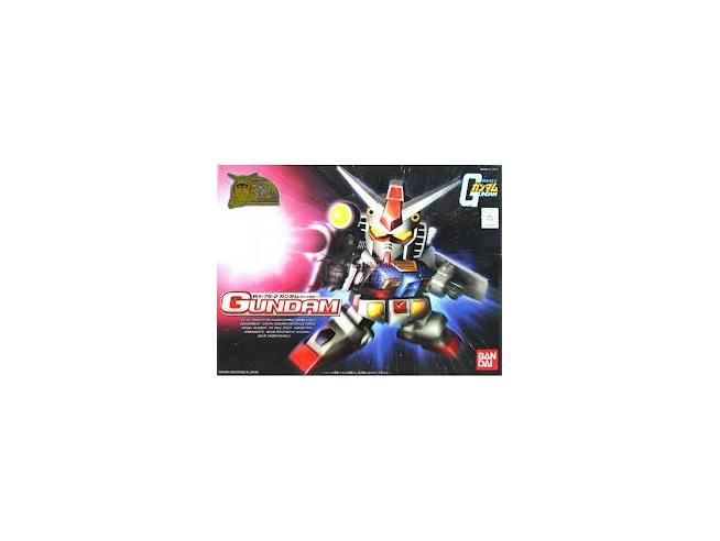 Gundam SD BB 01 RX-78-2 GUNDAM RX 78-2 Cross Silhouette Bandai Model Kit