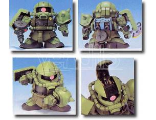 BANDAI MODEL KIT BB ZAKU MS-06F 218 MODEL KIT
