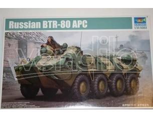 Trumpeter TP1594 RUSSIAN BTR-80A APC KIT 1:35 Modellino