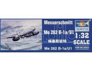 TRUMPETER 02237 MESSERCHMITT ME 262 B-1a/U1 Modellino