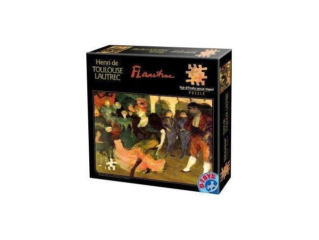 D-Toys 66978TL03 Marcelle Lender Ballando Balero Lautrec Puzzle (515 pezzi)