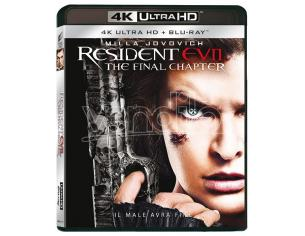 RESIDENT EVIL: THE FINAL CHAPTER 4K+BD AZIONE - BLU-RAY