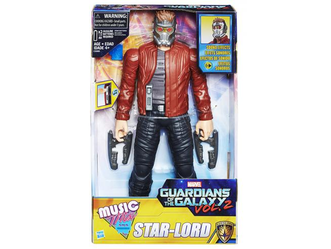 FIGURE GOTG STAR LORD ELETTRONICO GUARDIAN OF THE GALAXY - ACTION FIGURES