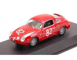 Best Model BT9669 FIAT ABARTH 850 ZAGATO N.82 WINNER 500 KM NURBURGRING 1960 1:43 Modellino