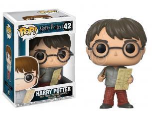 Funko Harry Potter POP Movies Vinile Figure Harry con Mappa del Malandrino 9 cm