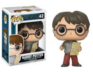 Harry Potter Funko POP Film Vinile Figura Harry Con Mappa Del Malandrino 9 Cm