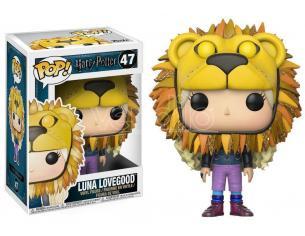 Funko Harry Potter POP! Movies Vinyl Figure Luna Lovegood with Lion Head 9 cm