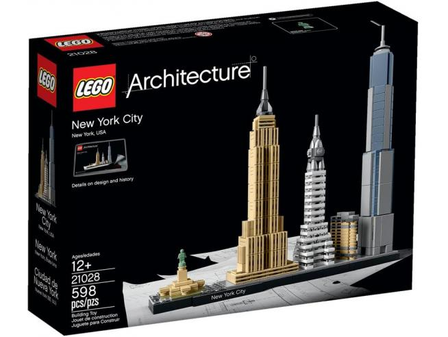 LEGO ARCHITECTURE 21028 - SET DI COSTRUZIONI NEW YORK CITY