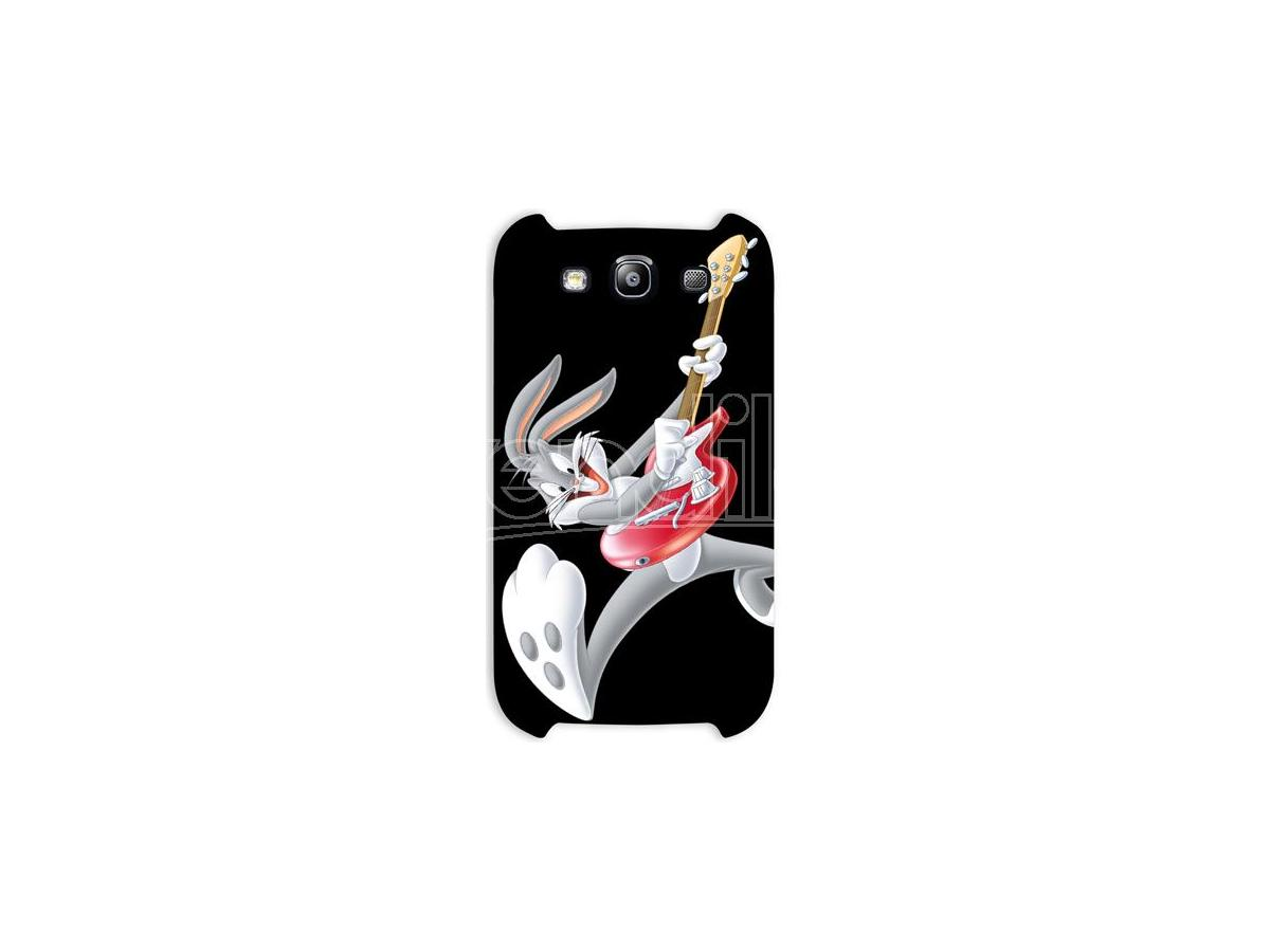 COVER BUGS BUNNY ROCK SAMSUNG S3 CUSTODIE/PROTEZIONE - MOBILE/TABLET