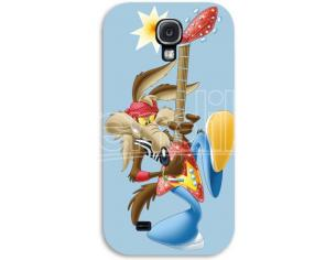 COVER WILE COYOTE ROCK SAMSUNG S4 CUSTODIE/PROTEZIONE - MOBILE/TABLET