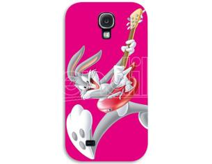 COVER BUGS BUNNY ROCK SAMSUNG S4 CUSTODIE/PROTEZIONE - MOBILE/TABLET