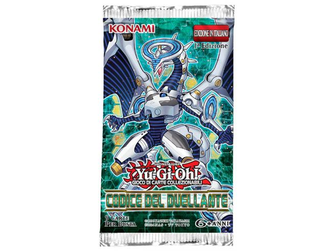 YU-GI-OH! CODICE DEL DUELLANTE BUSTA CARTE - DA GIOCO/COLLEZIONE