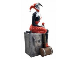 PLASTOY HARLEY QUINN ON THE SAFE BANK SALVADANAIO