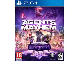 AGENTS OF MAYHEM DAY ONE EDITION AZIONE - PLAYSTATION 4