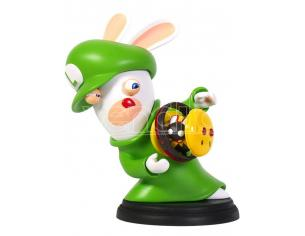 MARIO RABBID K.BATTLE STATUA LUIGI 15CM FIGURES - ACTION