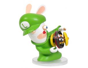 MARIO RABBID K.BATTLE STATUA LUIGI 8CM FIGURES - ACTION