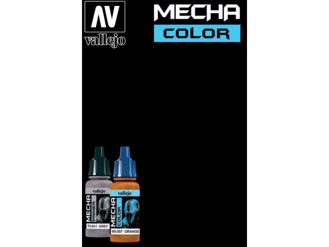 VALLEJO MECHA COLOR BLACK 70642 COLORI