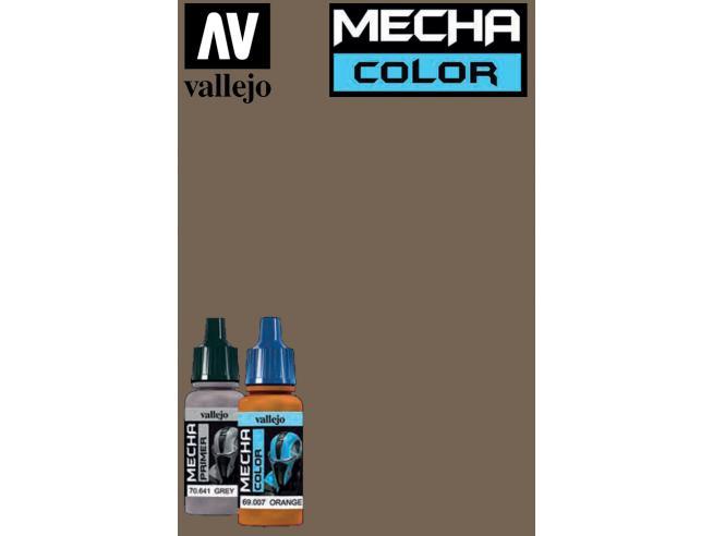 VALLEJO MECHA COLOR BROWN 69034 COLORI