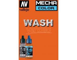 VALLEJO MECHA COLOR DARK RUST WASH 69507 COLORI