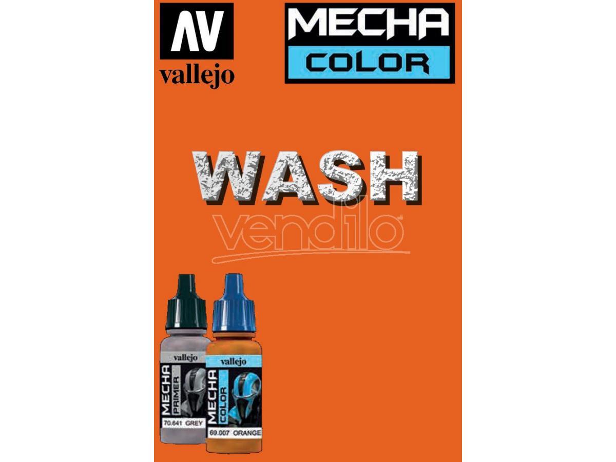 VALLEJO MECHA COLOR DARK RUST WASH 69507 COLORI