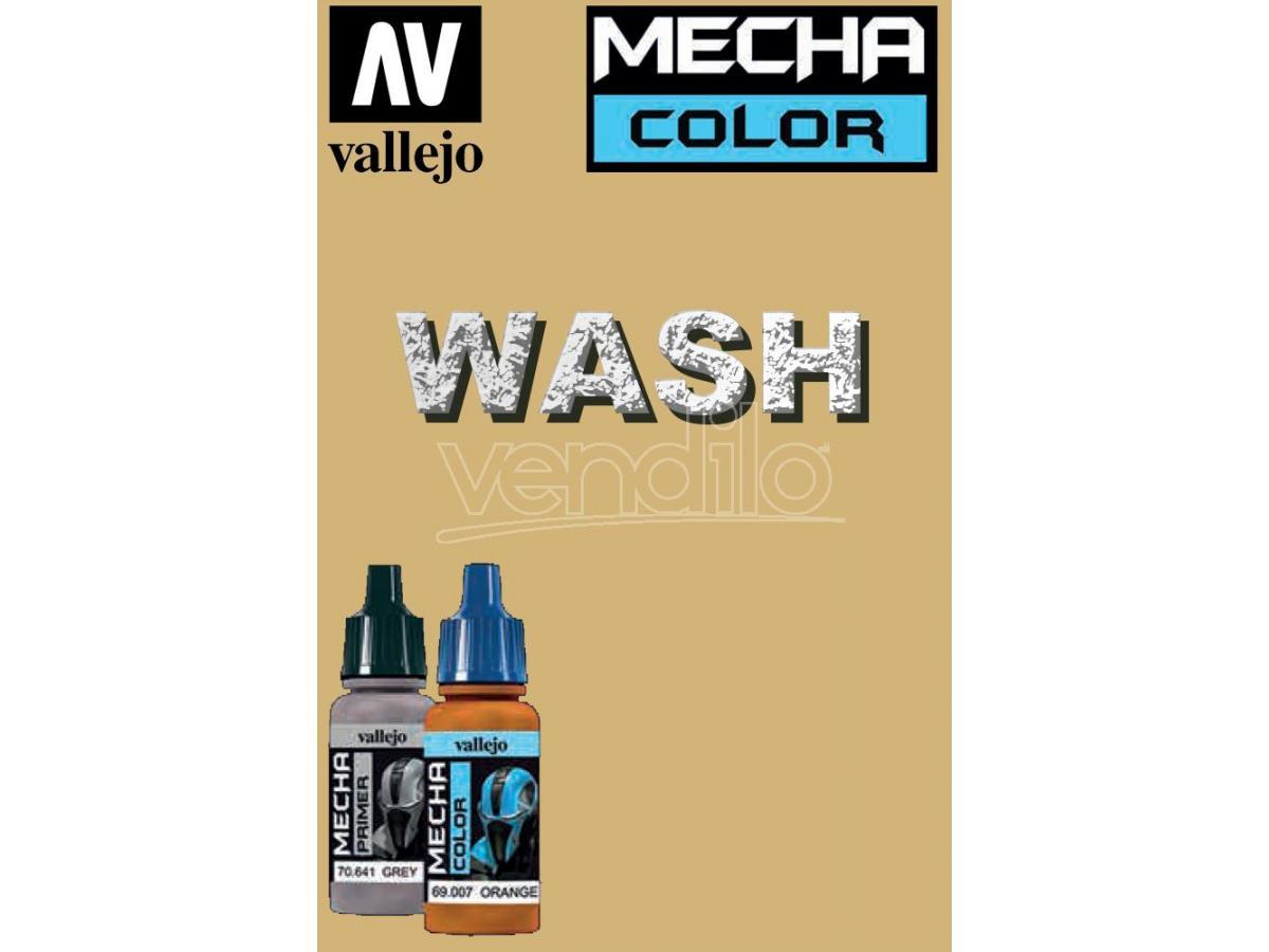 VALLEJO MECHA COLOR DESERT DUST WASH 69522 COLORI