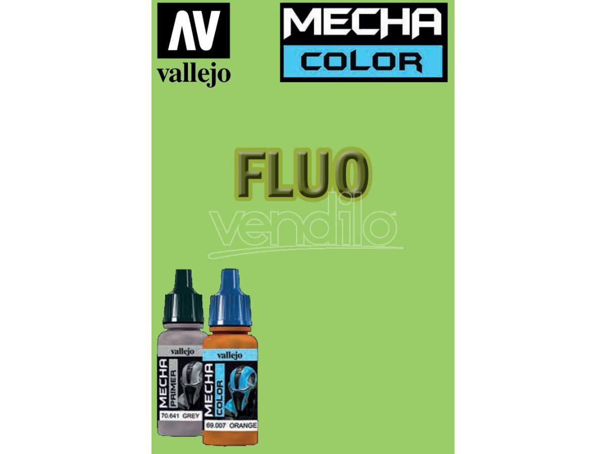 VALLEJO MECHA COLOR GREEN FLUORESCENT 69057 COLORI