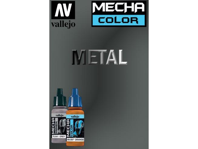 VALLEJO MECHA COLOR GUNMETAL 69058 COLORI