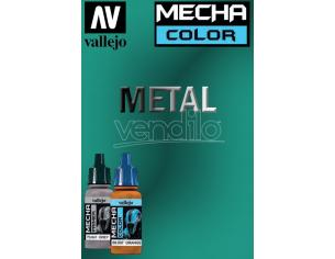 VALLEJO MECHA COLOR METALLIC GREEN 69068 COLORI