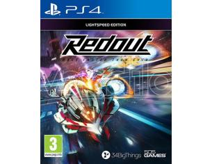 REDOUT LIGHTSPEED EDITION GUIDA/RACING - PLAYSTATION 4