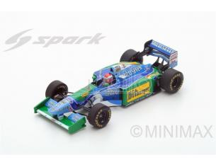 Spark Model S4484 BENETTON B194 J.HERBERT 1994 N.6 RETIRED AUSTRALIAN GP 1:43 Modellino