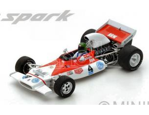 Spark Model S5272 BRM P153 R.WISELL 1972 N.4 RETIRED ARGENTINIAN GP 1:43 Modellino