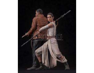 Star Wars Ep. Vii The Force Awakens Rey & Finn Artfx 2 Statua 1:10 Kotobukiya
