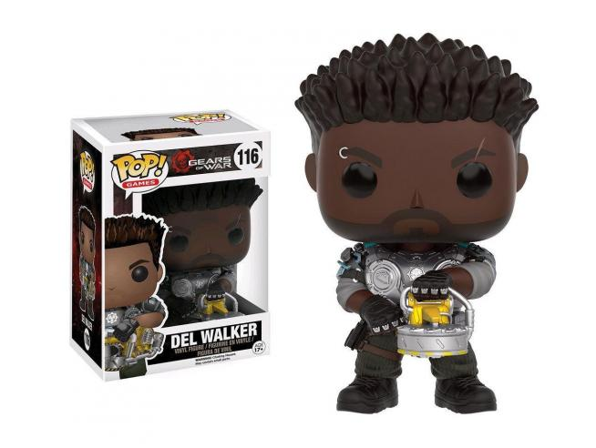 Funko Gears of War POP Games Vinile Figura Del Walker Armato 9 cm