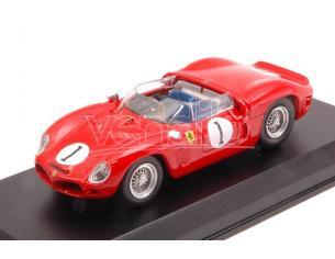 Art Model AM0371 FERRARI DINO 246 SP N.1 2nd 3 H DAYTONA 1962 P.HILL-R.RODRIGUEZ 1:43 Modellino