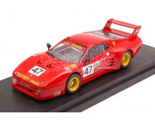 Best Model BT9671 FERRARI 512 BB N.47 5th (1st.CLASS) LM 1981 ANDRUET-BALLOT LENA-REGOUT Modellino