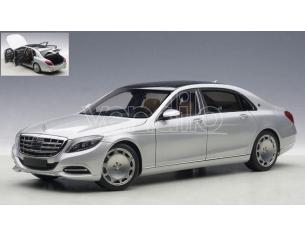 Auto Art / Gateway AA76292 MERCEDES MAYBACH S-KLASSE (S600) 2016 ARGENTO 1:18 Modellino