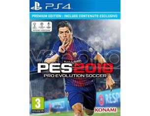 PRO EVOLUTION SOCCER 2018 PREMIUM ED. SPORTIVO - PLAYSTATION 4