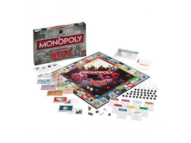 Gioco da Tavolo Monopoly The Walking Dead Versione Italiana Winning Moves