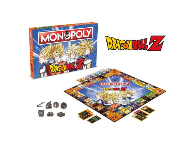 Gioco da Tavolo Monopoly Dragon Ball Z Versione Italiana Winning Moves