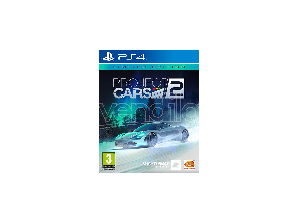 PROJECT CARS 2 LIMITED EDITION GUIDA/RACING - PLAYSTATION 4